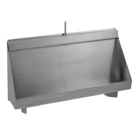 Franke Centinel G20119N 2400mm Wall-Mounted Stainless Steel Urinal Trough with Concealed Cistern